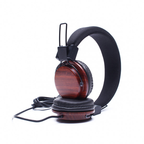 Wooden Headphones - Stoopid Deals