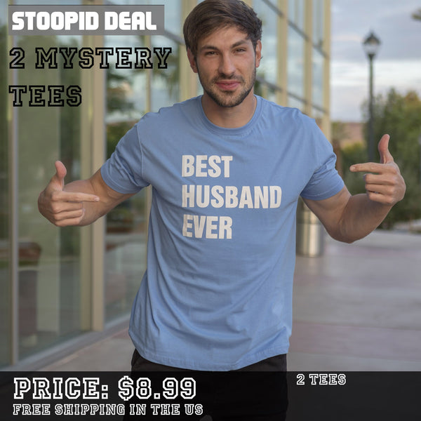 2 Mystery Funny Tees - Stoopid Deals