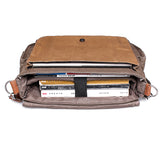 Tricolor Canvas Messenger - Stoopid Deals