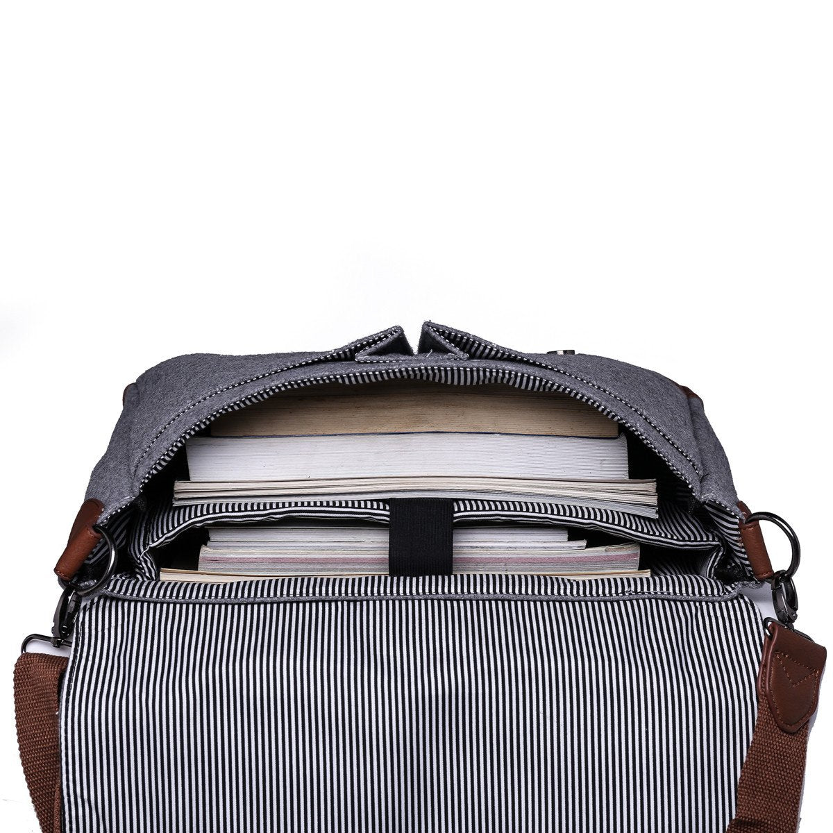 1759dae1e0 ... Light Grey Messenger Bag with Padded Laptop Holder - Stoopid Deals ...