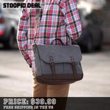Wool Messenger Bag - Stoopid Deals