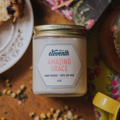 Eleventh Candle Co Amazing Grace