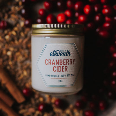 Cranberry Cider - Eleventh Candle Co