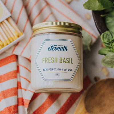 Fresh Basil - Eleventh Candle Co