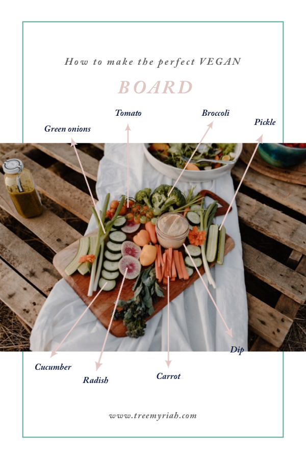 How to make your own veggie board