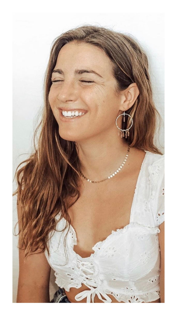 travel wanderlust gyspy modern boho simple jewelry handmade labradorite wedding gift pearls moonstone pearl earrings necklace bride mexico winter getaway beach bali traveling