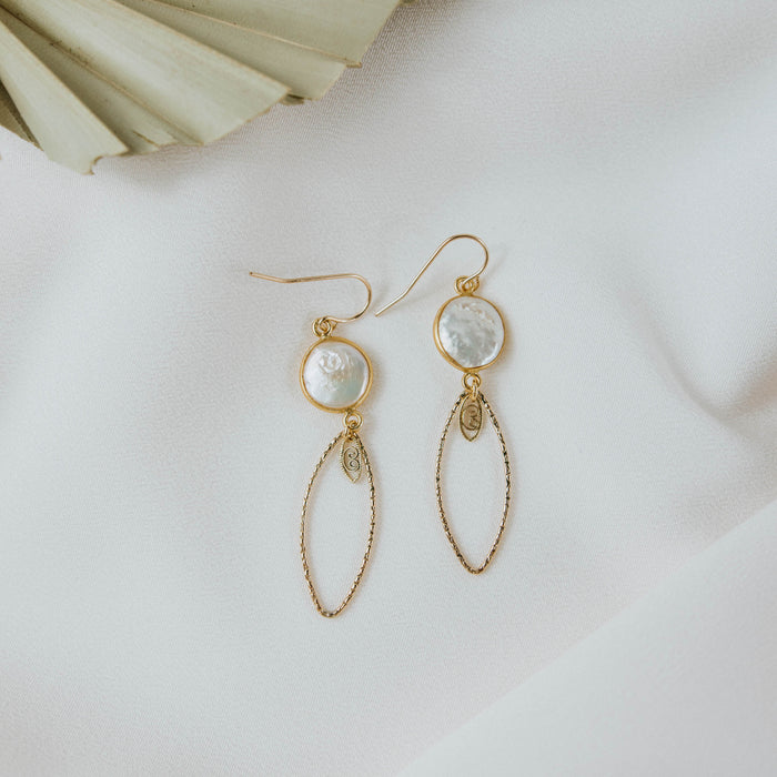 Pearl Mandy Earrings