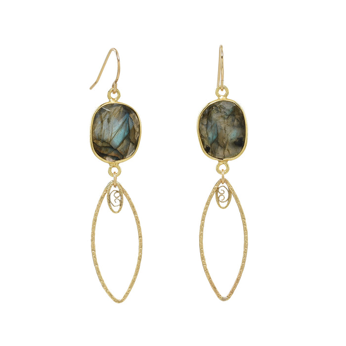 Labradorite Mandy Earrings