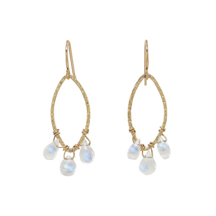 Moonstone Deven Earrings