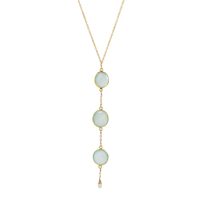 Chalcedony Prima Necklace