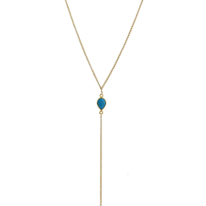 coastal lariat turquoise labradorite gold layer boho chic travel wanderlust bali tulum inspired collection salt water jewelry