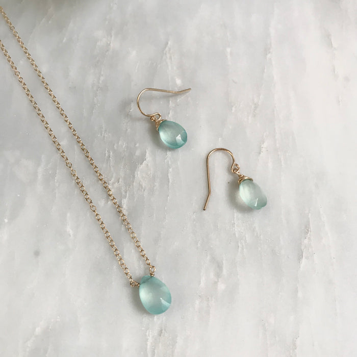 Chalcedony Mother Daughter Set