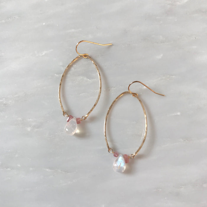 Admire Oval Hoops