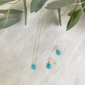 Turquoise Mother Daughter Set