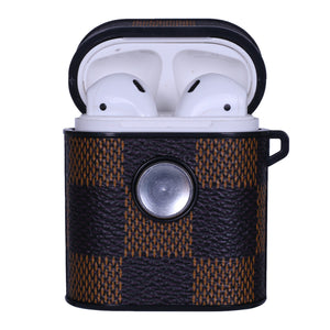 LV Checkers Spinner AirPods Case - Skiins