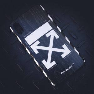 Off-White Style iPhone Case - Skiins