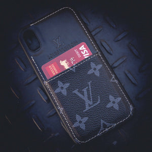 LV Monogram Card Holder iPhone Case - Skiins