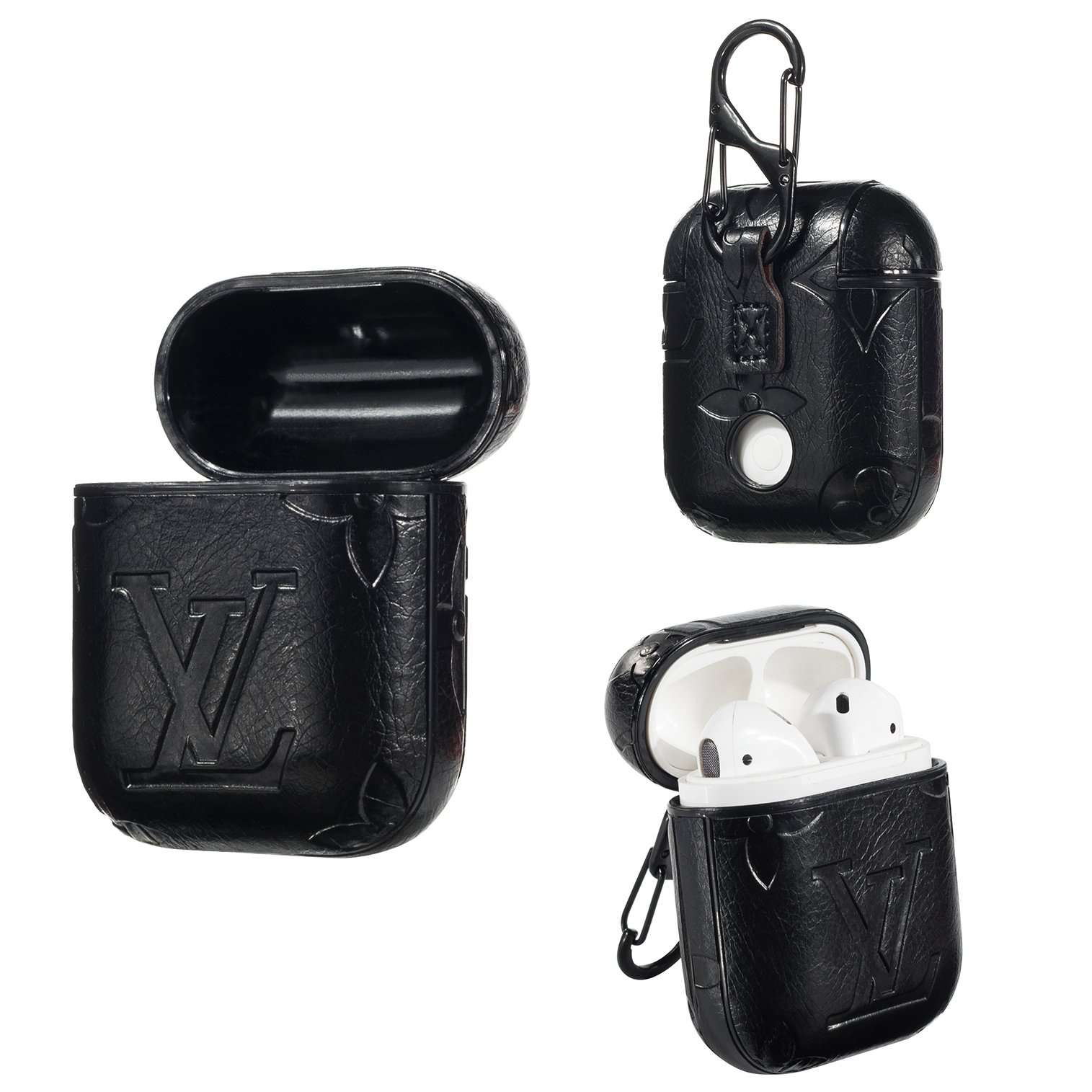 Louis Vuitton AirPods Leather Protective Shockproof Case