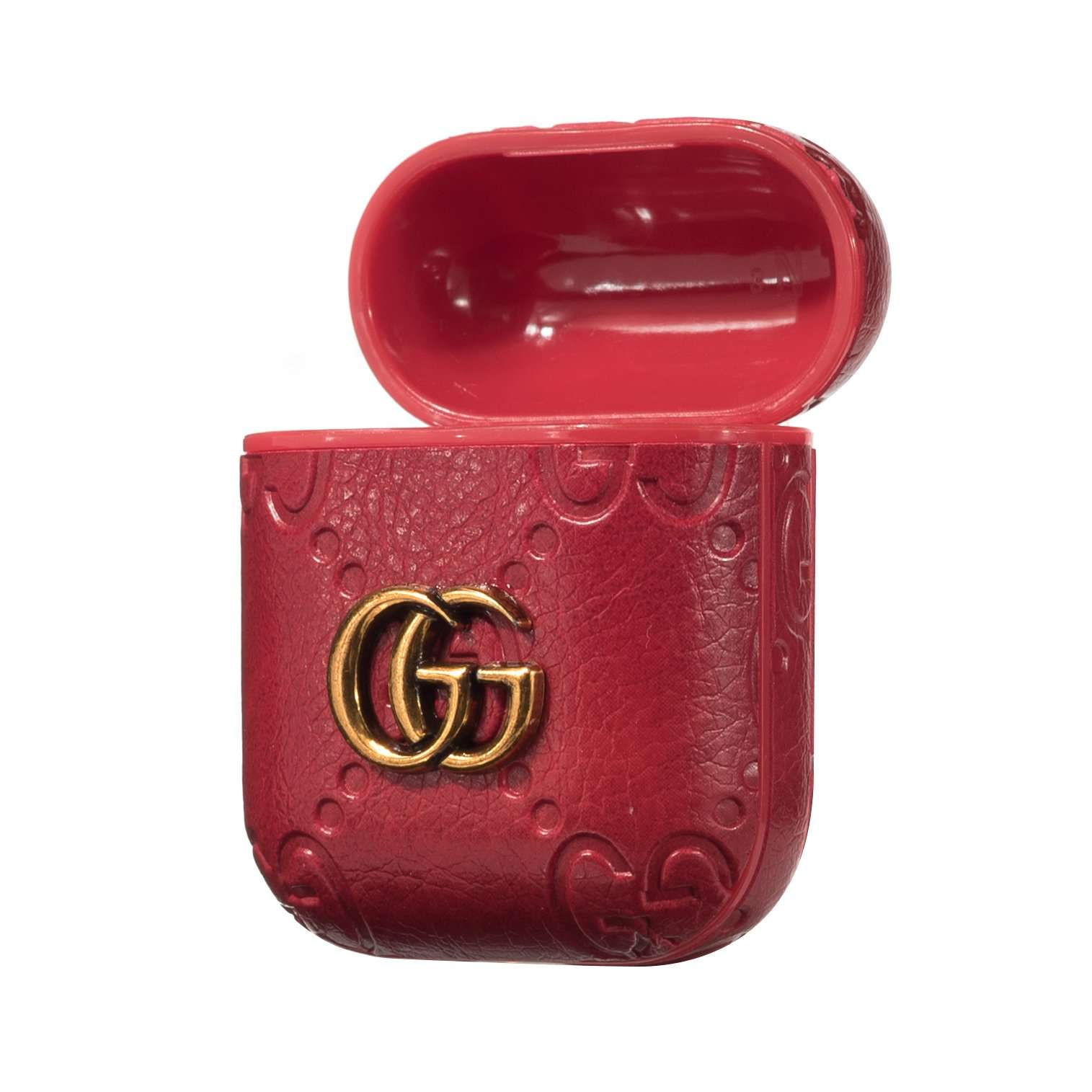 Gucci GG AirPods Leather Protective Shockproof Case