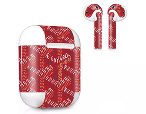 Monogram Airpods Skin (2 pack) - Skiins