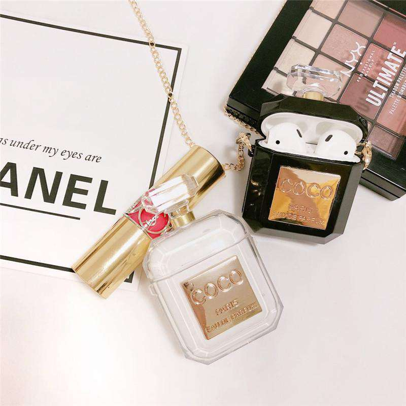 Chanel Coco Perfume Bottle AirPods Case