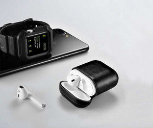 BB Leather AirPods Case - Skiins
