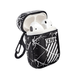 Off-White Style AirPods Case - Skiins