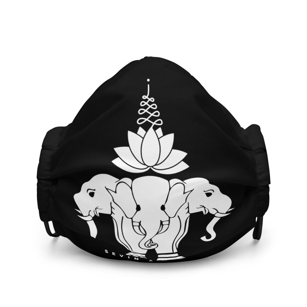 Lotus Elephant face mask