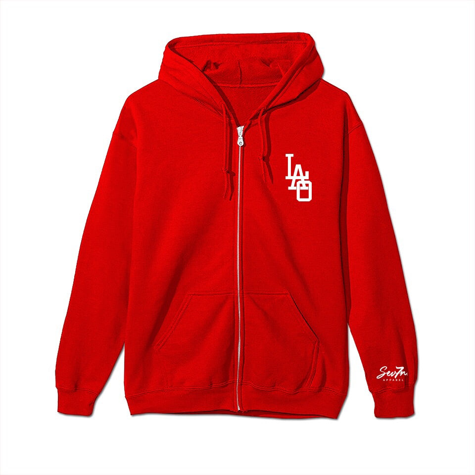 Youth 3 Headed Lotus Elephant Zip up Hoodie