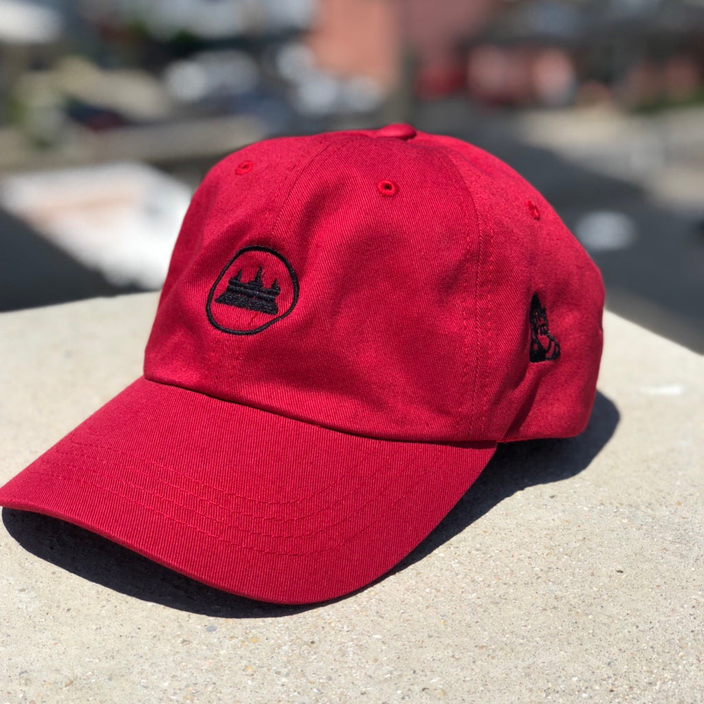 Temple dad hat