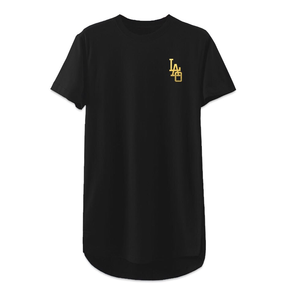 LAO Script Long length T Shirt