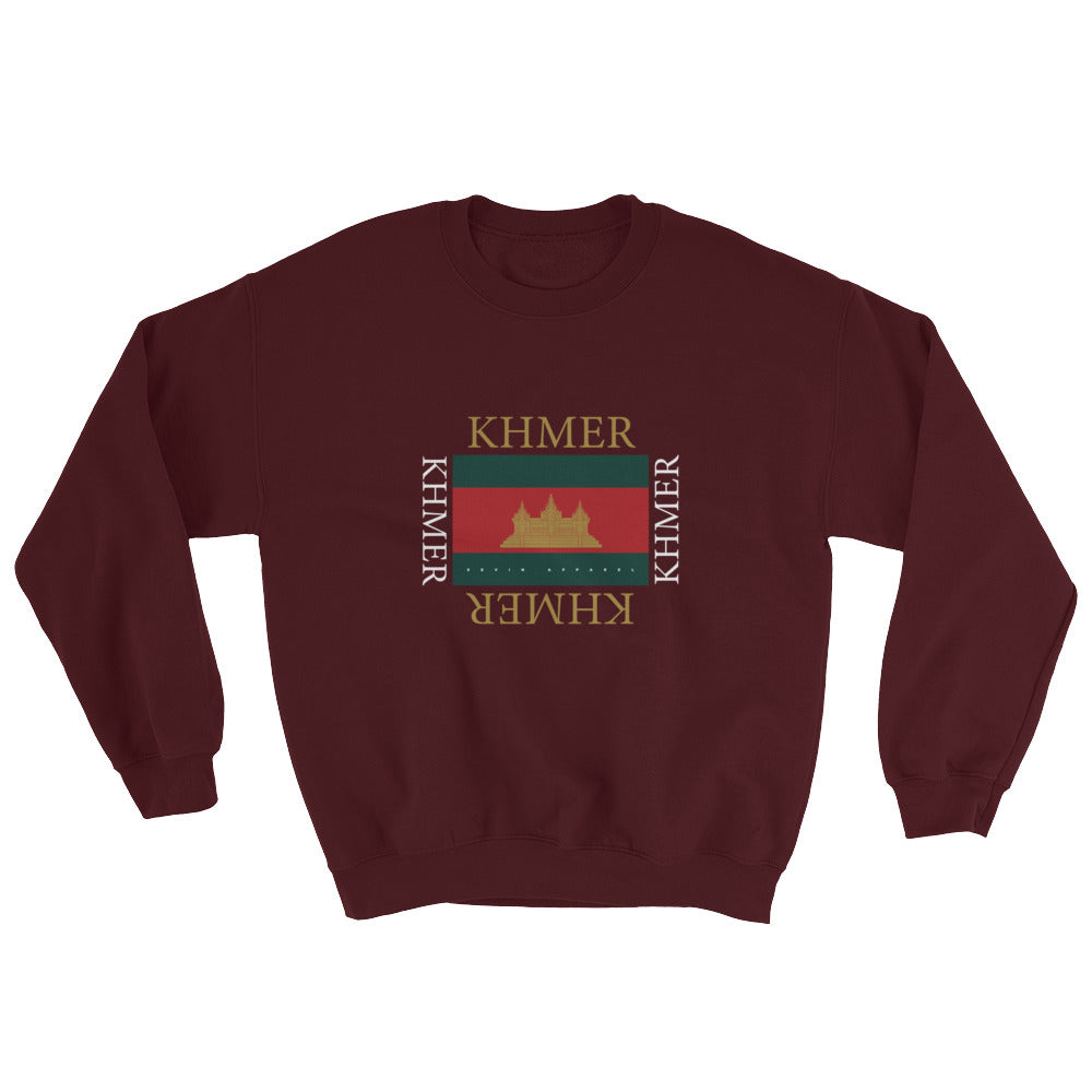 Khmer Temple Stripe Sweatshirt