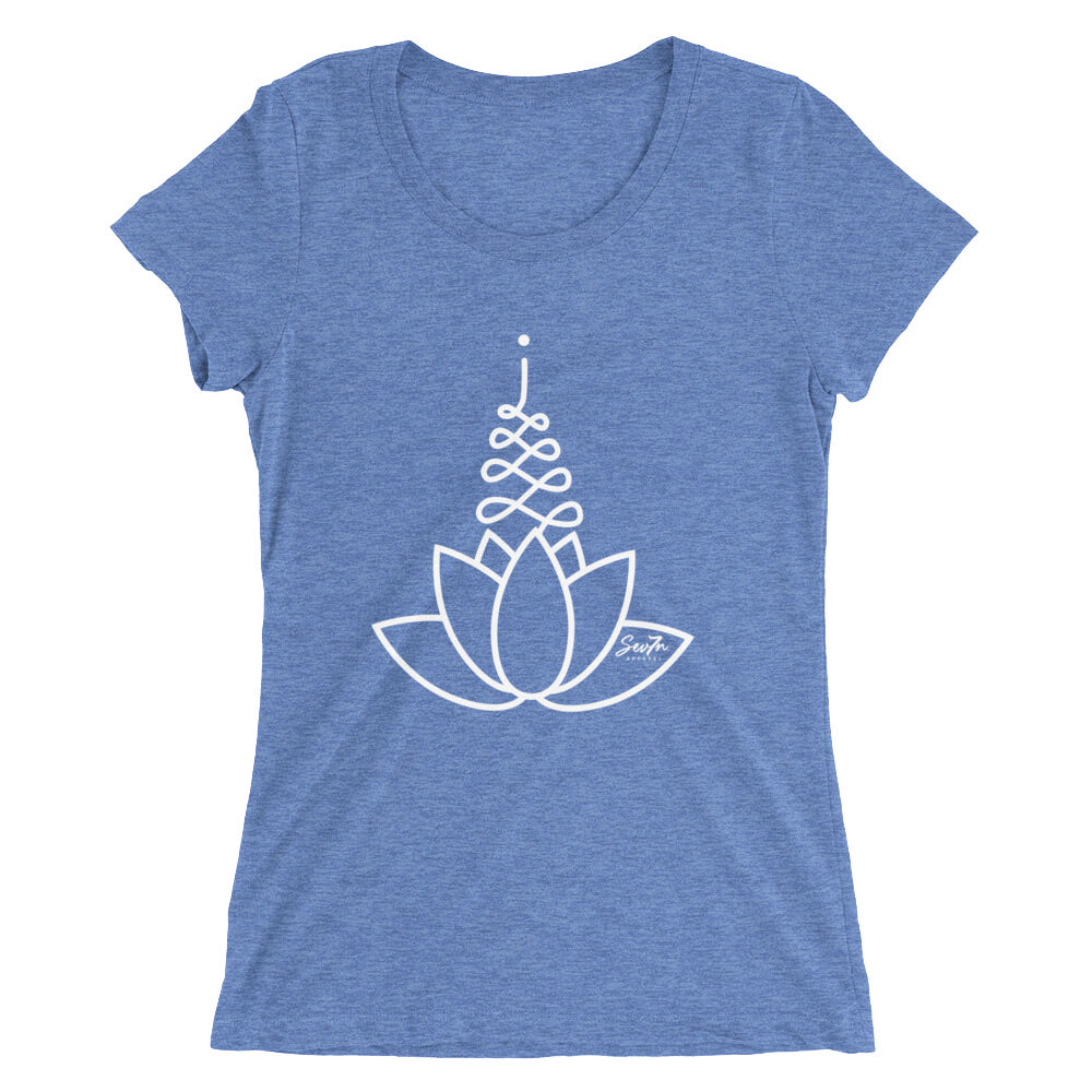 Ladies' Lotus Tri-Blend  T shirt