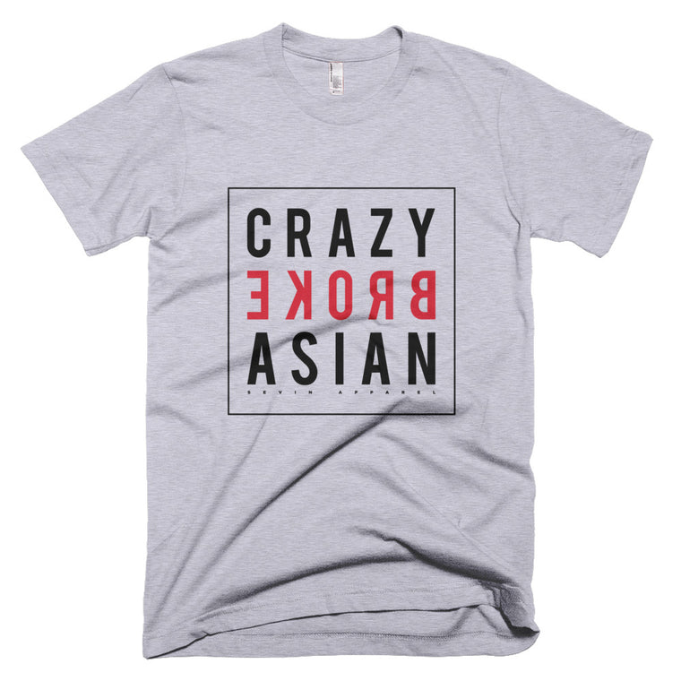 Crazy Broke Asian black Short-Sleeve T-Shirt