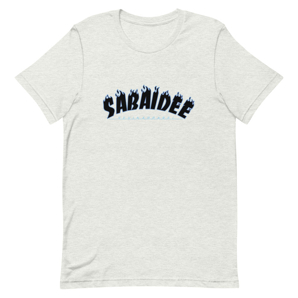 Sabaidee Flame Short-Sleeve Unisex T-Shirt