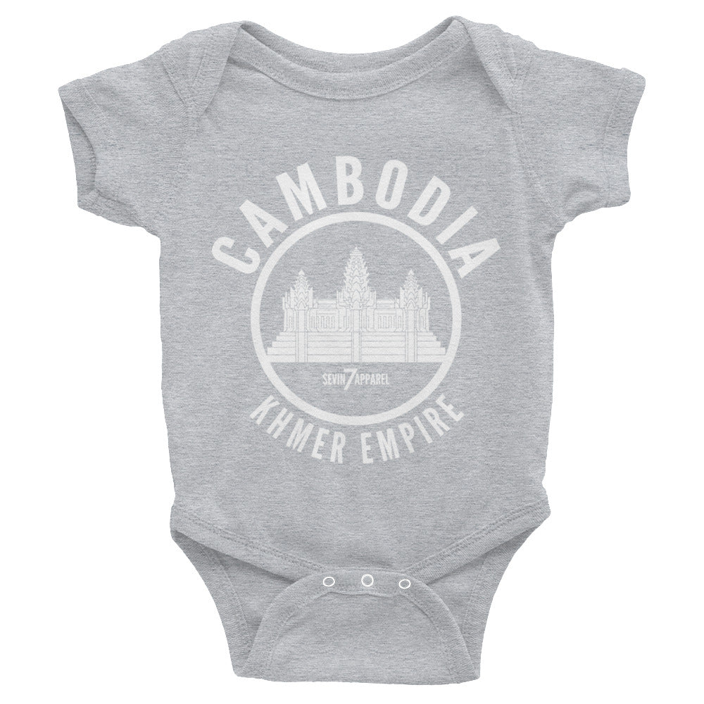 Cambodia Empire Infant Bodysuit