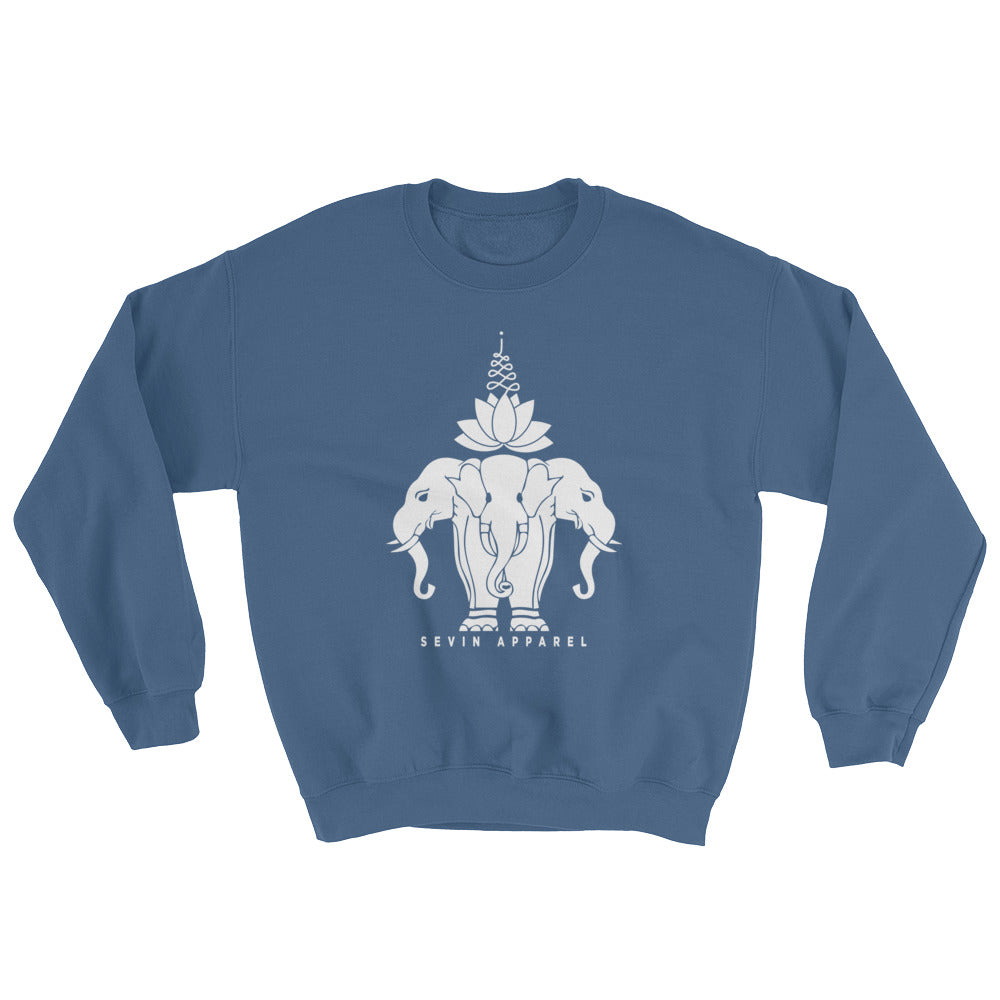 Lotus Elephant Sweatshirt