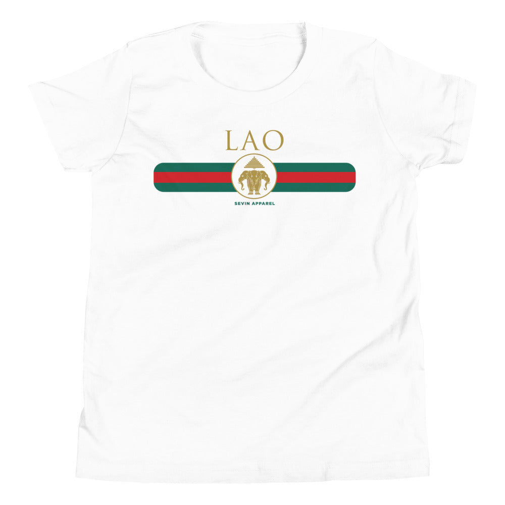 Youth Lao Stripe Short Sleeve T-Shirt
