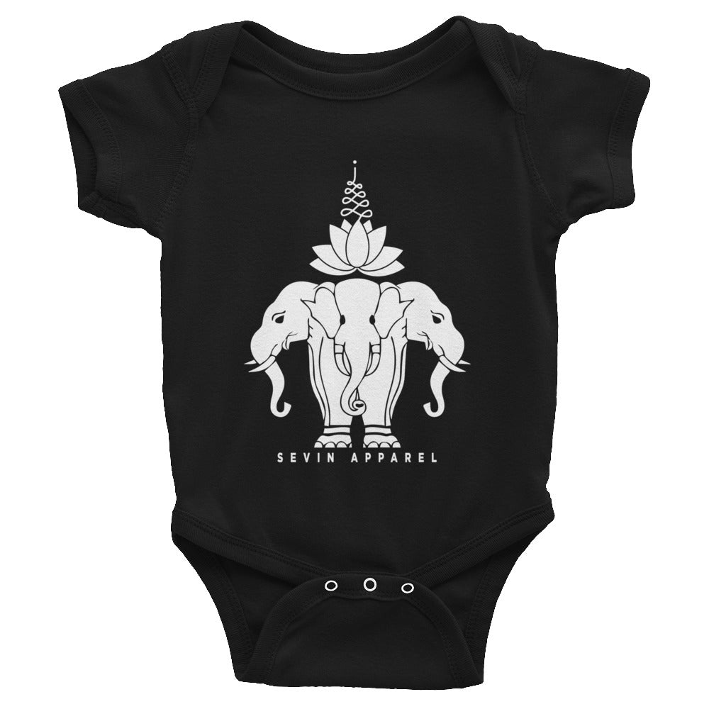 Lotus Elephant Infant Bodysuit