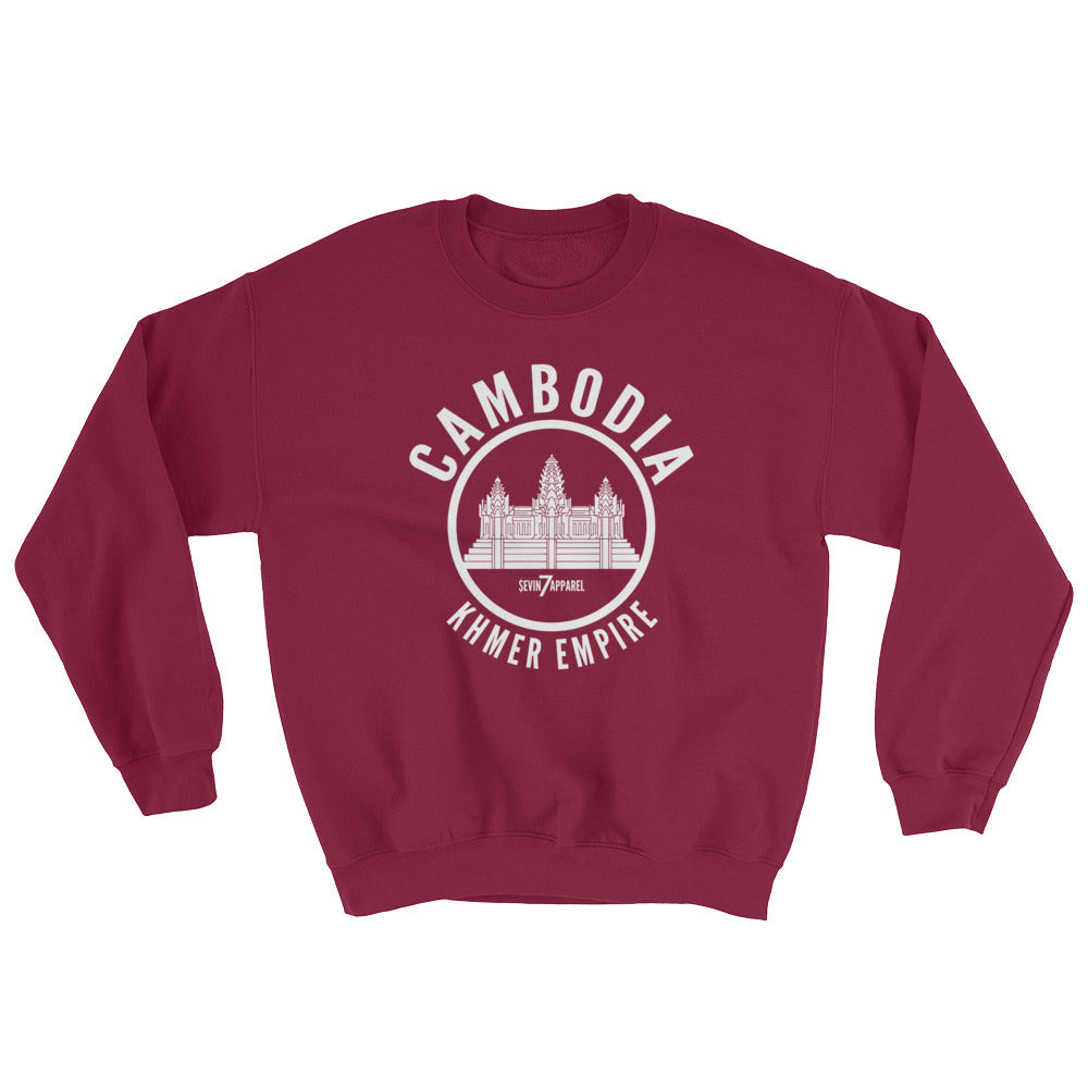 Cambodia Empire Crew neck Sweatshirt