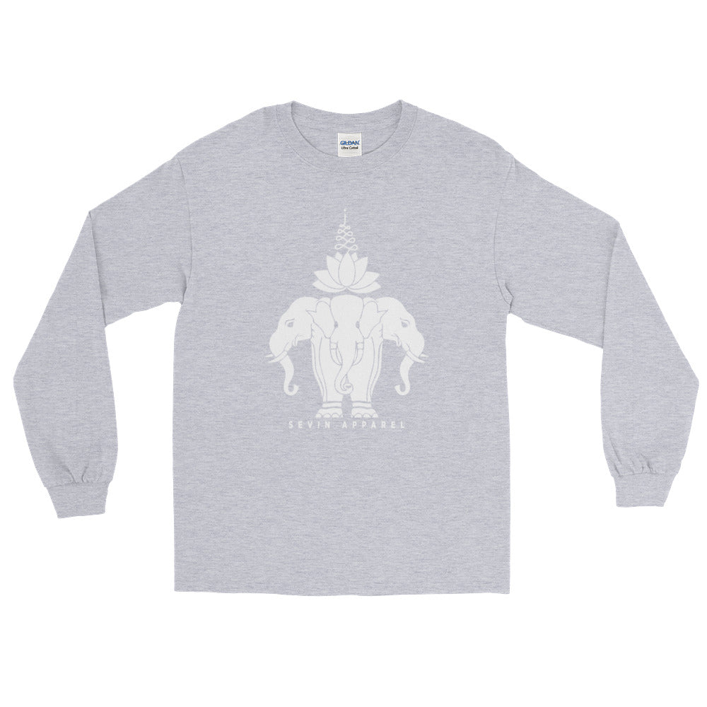 Lotus Elephant Long Sleeve T-Shirt