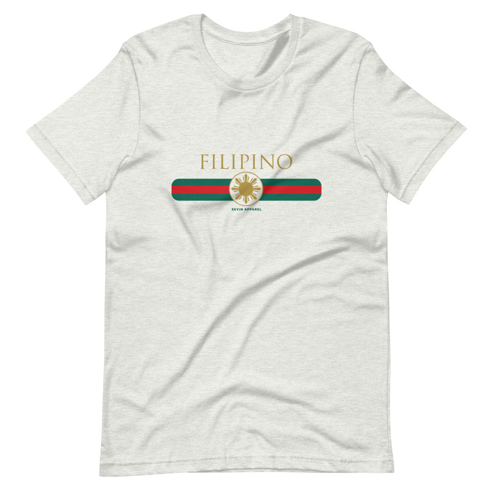 Filipino Stripe Short-Sleeve Unisex T-Shirt