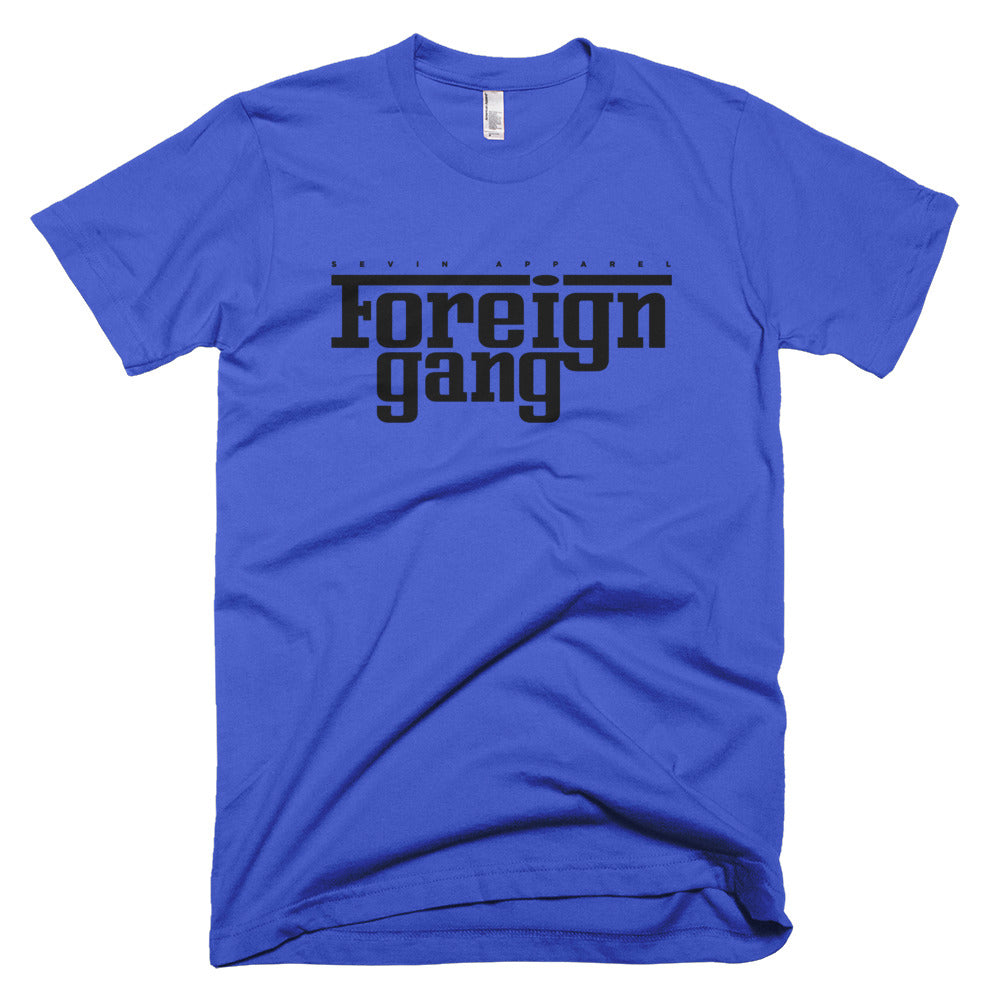 Foreign Gang blk print Short-Sleeve T-Shirt
