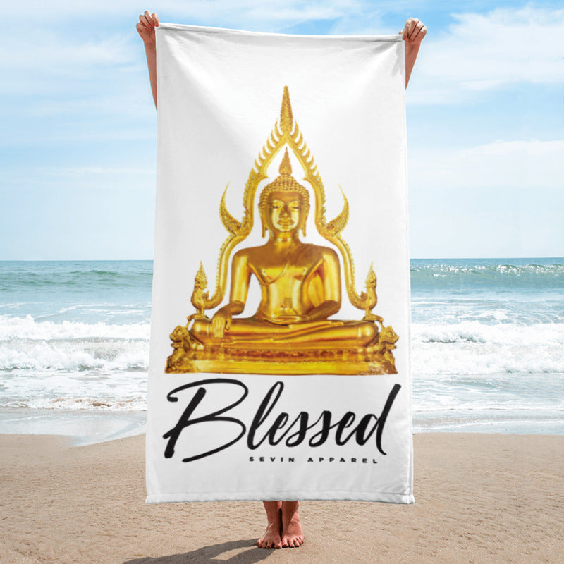 Buddha Blessed Beach Towel