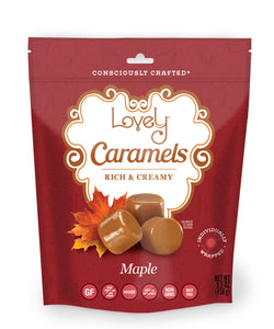 gluten free candy maple caramels