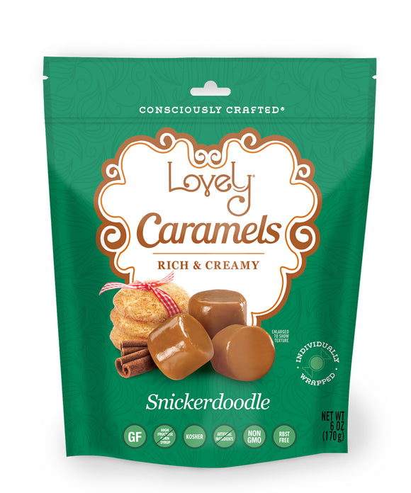 gluten free candy snickerdoodle caramels
