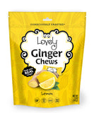 gluten free candy lemon ginger chews