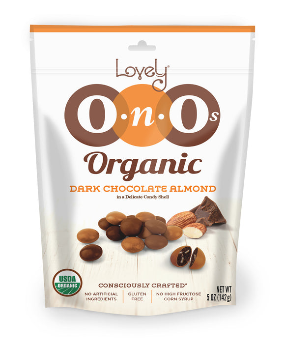 Dark Chocolate Almond Organic OnOs, 5 oz