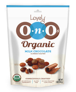 Organic OnOs Milk Chocolate, 5 oz