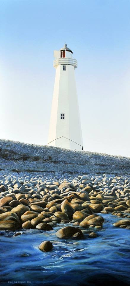 Nelson Lighthouse, The Boulder Bank, New Zealand